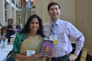 Me and author Padma Venkatraman