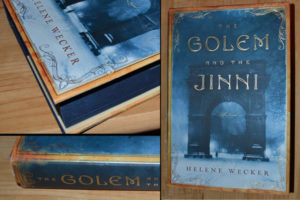 Pictures of the book The Golem and the Jinni