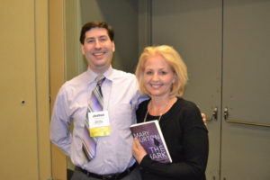 Authors JP Cane and Mary Burton