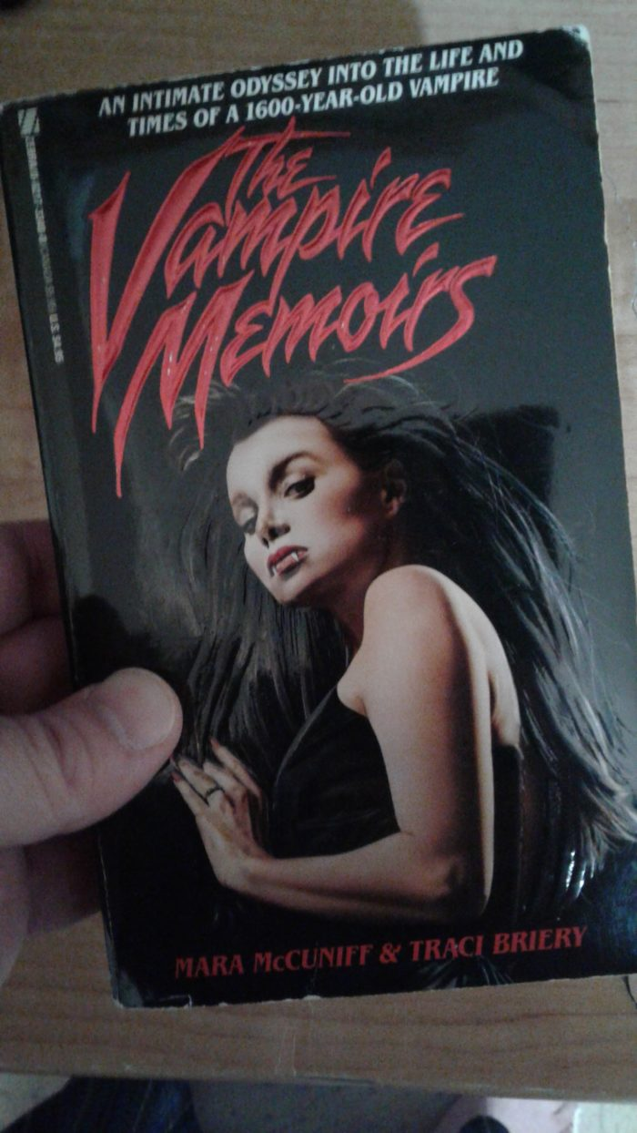 The Vampire Memoirs by Mara McCuniff and Traci Briery