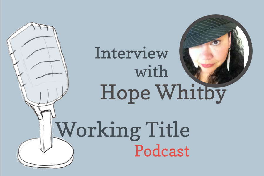Interview with poet Hope Whitby